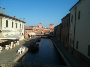 Comacchio in its dormant state