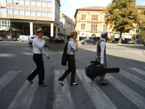 Barnyard Tea Zebra Crossing (Not Abbey Road)