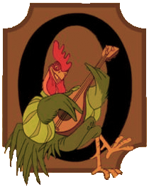 The Rooster of Disney's Robin Hood