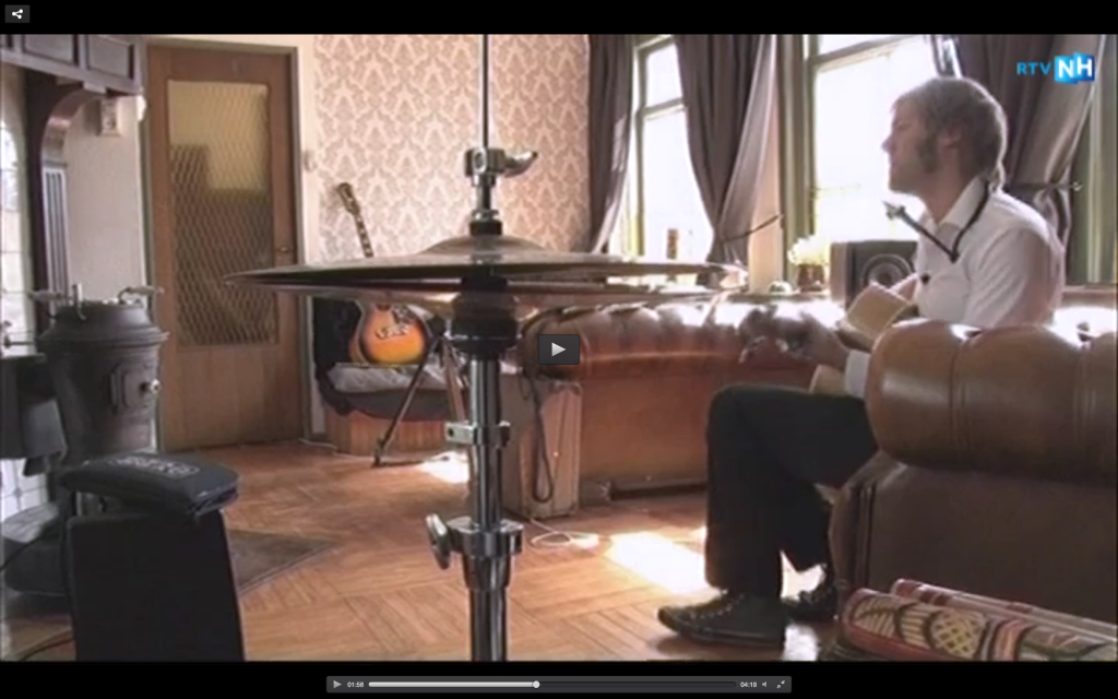 Frank Nicolas at RTV Noord-Holland
