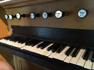 Organ Keys in White Chapel Holysloot